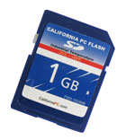 California PC FLASH - Industrial Grade Secure Digital (SD)